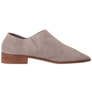 Sam Edelman PACEY Putty Cow Leather Suede Shoes